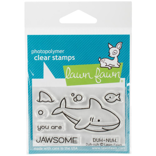 Lawn Fawn Clear Stamps - Duh-nuh