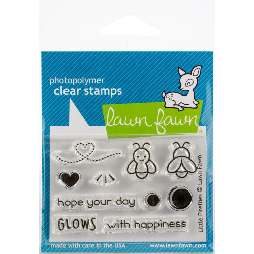Lawn Fawn Clear Stamps - Little Fireflies