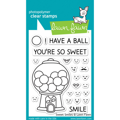 Lawn Fawn Clear Stamps - Sweet Smiles