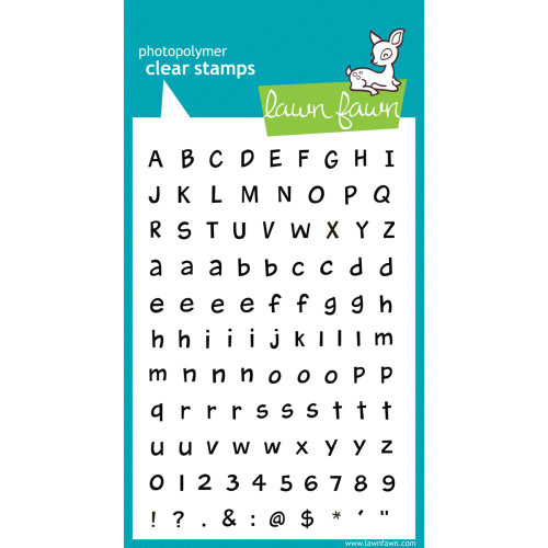Lawn Fawn Clear Stamps - Harold's ABCs