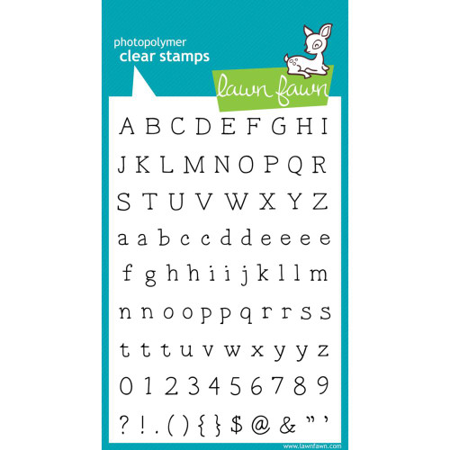 Lawn Fawn Clear Stamps - Smitty's ABCs