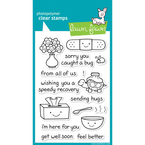 Lawn Fawn Clear Stamps - On The Mend