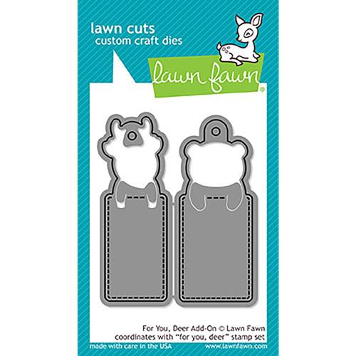 Lawn Cuts Custom Craft Add On Dies - For You, Deer