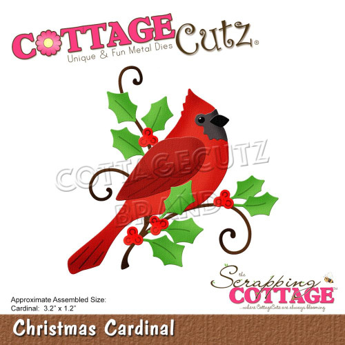 CottageCutz Dies - Christmas Cardinal