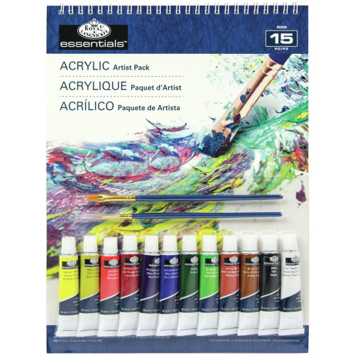 essentials™ Artist Pack - Acrylic 15/Pkg