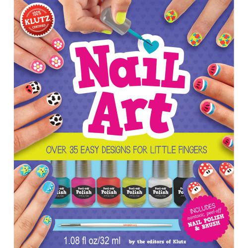 Klutz Nail Art Book Kit
