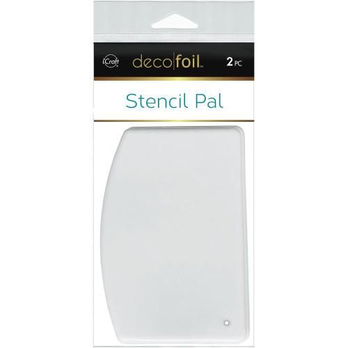 """Deco Foil Stencil Pal 3.75""""X5.2"""" 2/Pkg"""