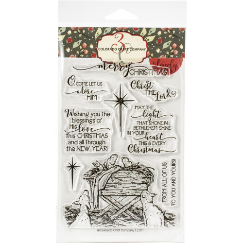 Colorado Craft Co. Clear Stamps - Bethlehem's Light