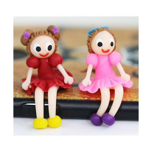 Dress My Craft Miniature - Cute Little Girl Figure 2/Pkg