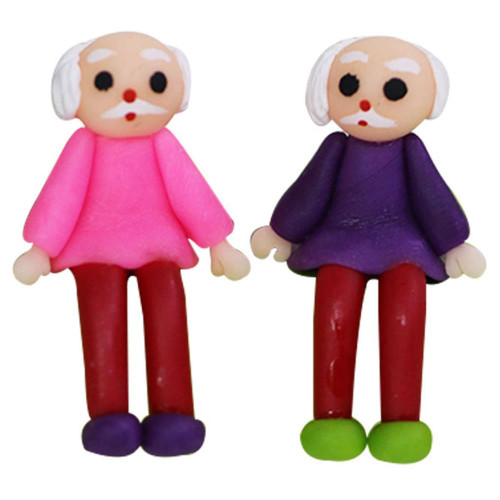 Dress My Craft Miniature - Grandpa Figure 2/Pkg