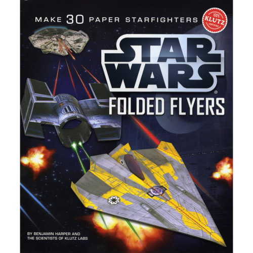 Klutz Star Wars Folded Flyers Book Kit