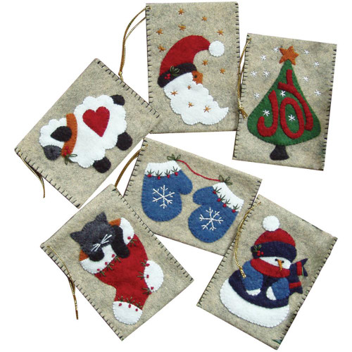 Rachel's of Greenfield Felt Gift Bag Ornament Kit