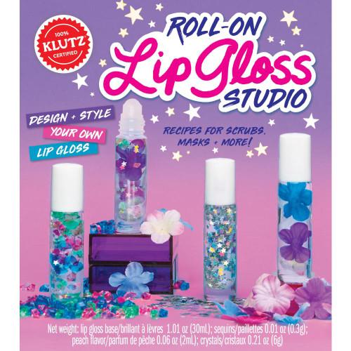 Klutz Roll-On Lip Gloss Studio