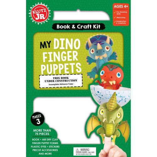 Klutz Jr. My Dino Finger Puppets