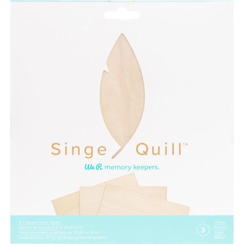 We R Memory Keepers Singe Quill Veneer Sheets 3/Pkg