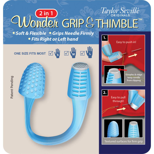 Taylor Seville 2-In-1 Wonder Grip & Thimble