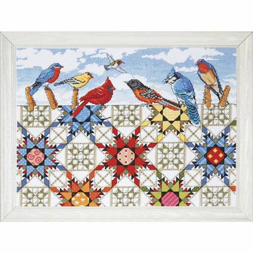 Design Works Counted Cross Stitch Kit - Feathered Stars