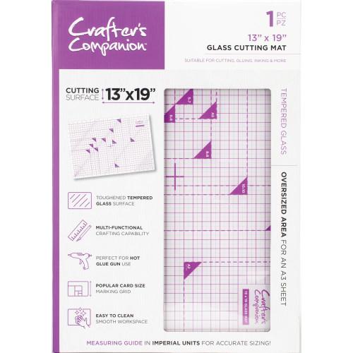 "Crafter's Companion Glass Cutting Mat 13""X19"""