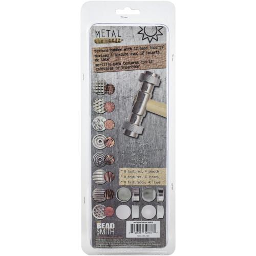 Beadsmith Texture Hammer W/Interchangeable Head 13pcs