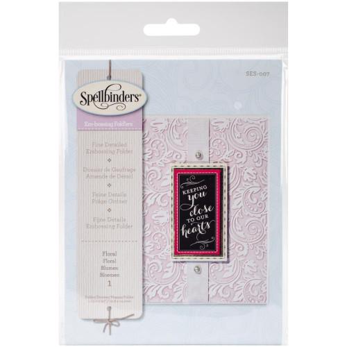 Spellbinders Cutting Embossing Folders - Floral