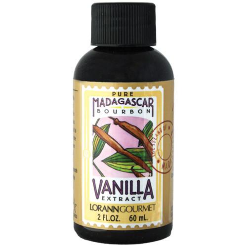 Pure Madagascar Vanilla Extract 2oz.