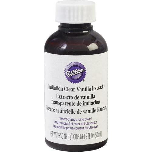 Clear Vanilla Extract 2oz.
