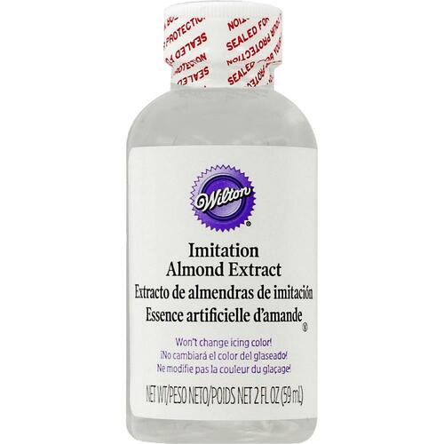 Clear Almond Extract 2oz.