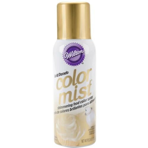 Color Mist Shimmering Food Spray 1.5oz - Metallic Gold