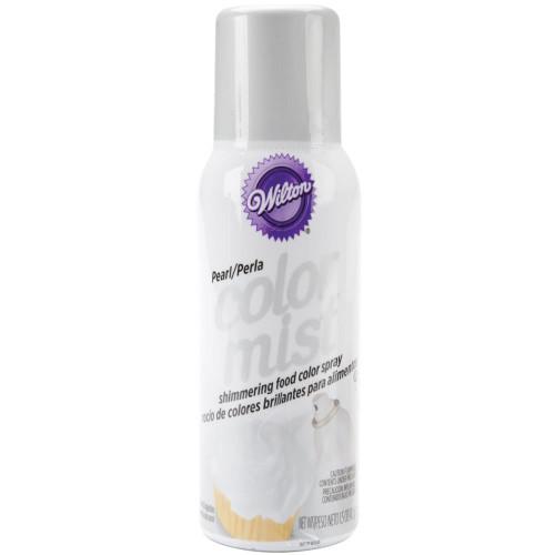 Color Mist Shimmering Food Spray 1.5oz - Metallic Pearl