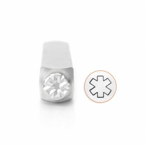 ImpressArt Design Stamp - Medical Alert Symbol Outline