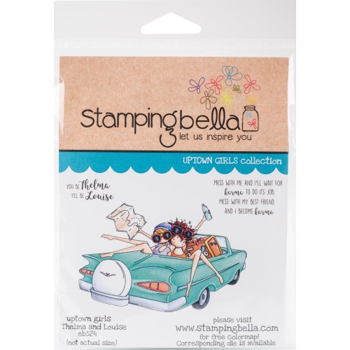Stamping Bella Rubber Stamps - Thelma & Louise