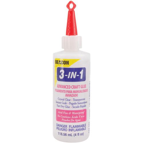 Beacon 3-In-1 Advanced Craft Glue 4oz