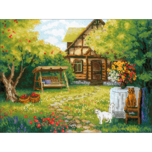 Riolis Counted Cross Stitch Kit - Country House