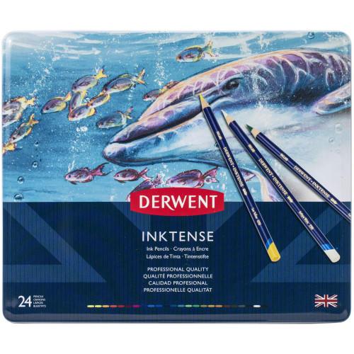 Derwent Inktense Pencils 24/Pkg