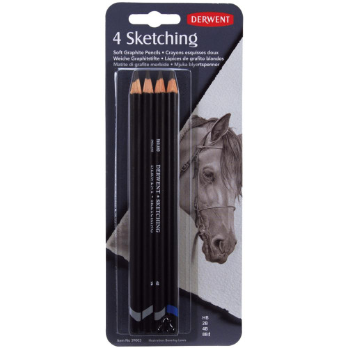 Derwent Sketch Pencil Set 4/Pkg