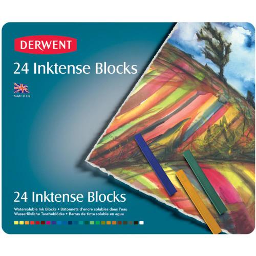 Derwent Inktense Blocks 24/Pkg