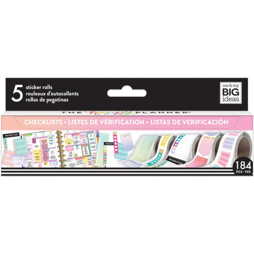 Me & My Big Ideas Happy Planner Sticker Roll - Checklist
