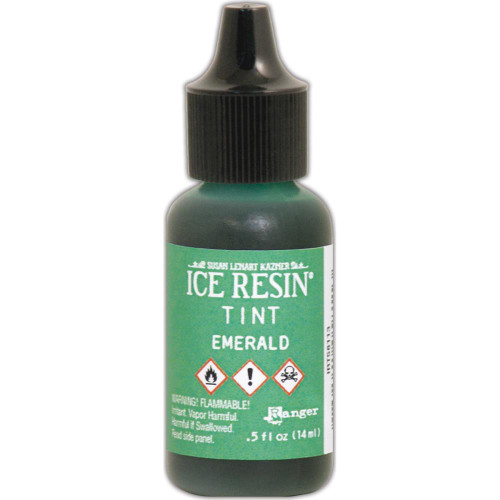 Ranger Ice Resin Tints .5oz - Emerald