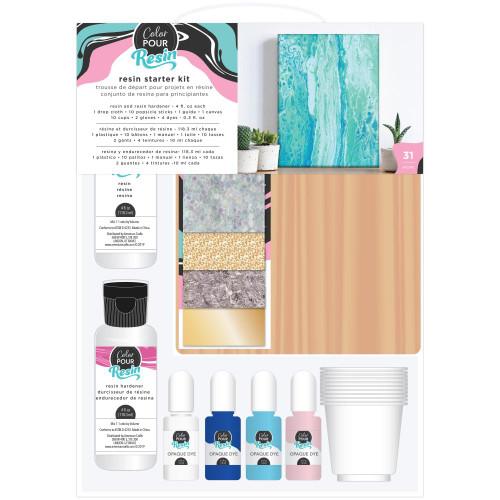 American Crafts Color Pour Resin Starter Kit