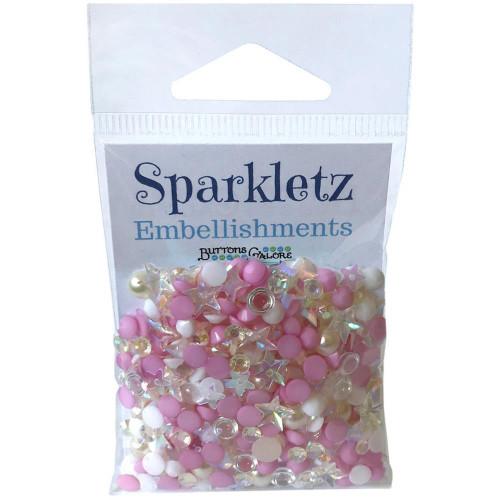 Buttons Galore Sparkletz Embellishment Pack 10g - Barefoot Beach