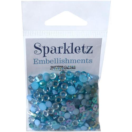 Buttons Galore Sparkletz Embellishment Pack 10g - Ocean Waves
