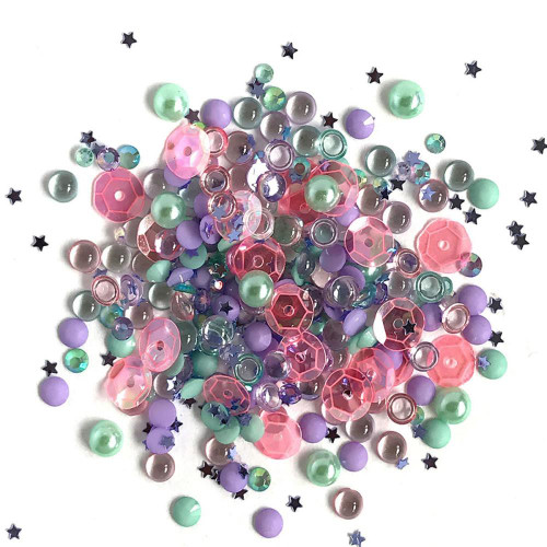 Buttons Galore Sparkletz Embellishment Pack 10g - Mermaid