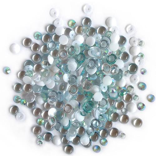 Buttons Galore Sparkletz Embellishment Pack 10g - Island Breeze