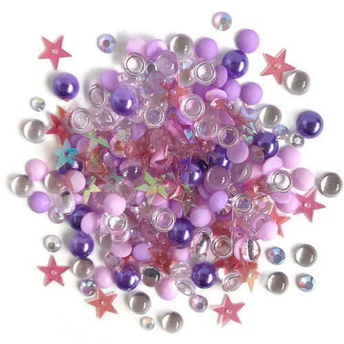 Buttons Galore Sparkletz Embellishment Pack 10g - Jelly Fish
