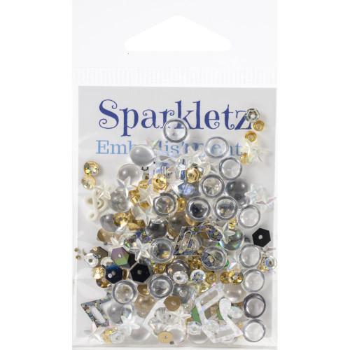 Buttons Galore Sparkletz Embellishment Pack 10g - Concerto