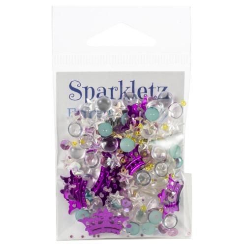 Buttons Galore Sparkletz Embellishment Pack 10g - Princess Dreams