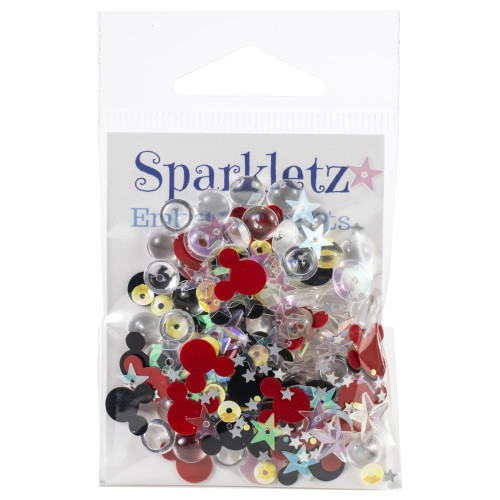 Buttons Galore Sparkletz Embellishment Pack 10g - Magical