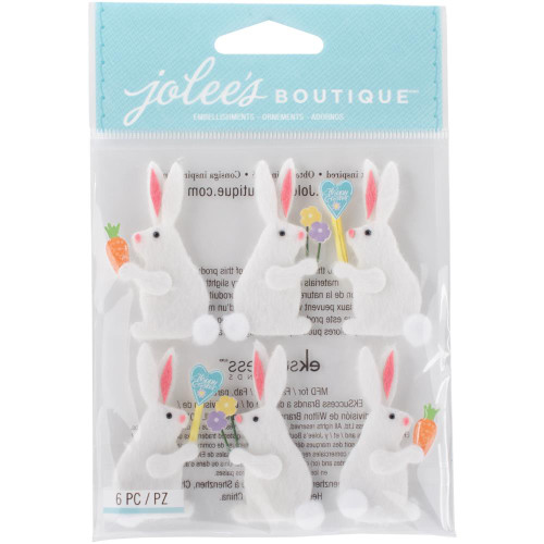 Jolee's Boutique Dimensional Stickers - Easter Bunnies