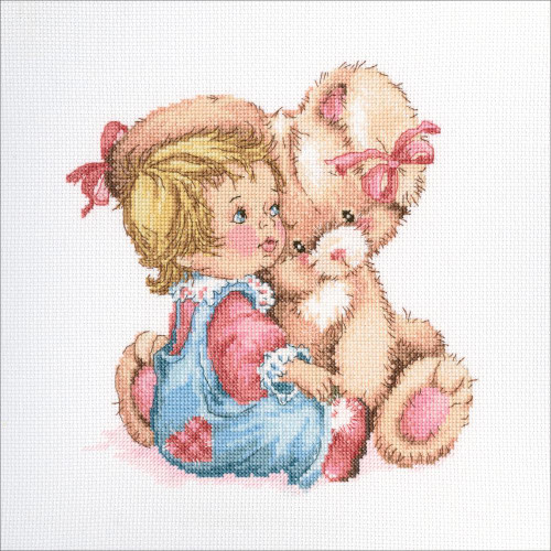 RTO Counted Cross Stitch Kit - Tender Bunny