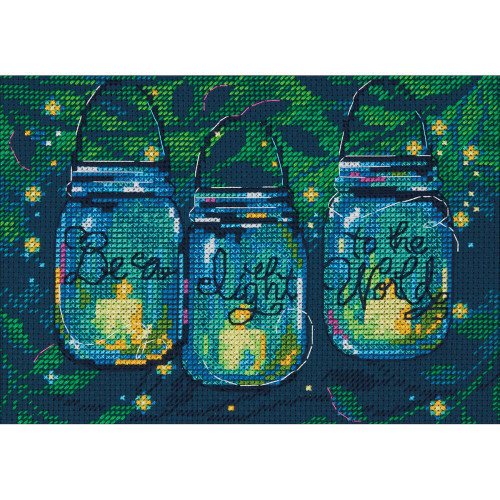 Dimensions Counted Cross Stitch Kit - Be A Light